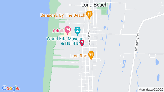 Our Place at the Beach Map