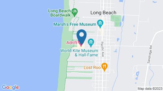 Adrift Hotel Map