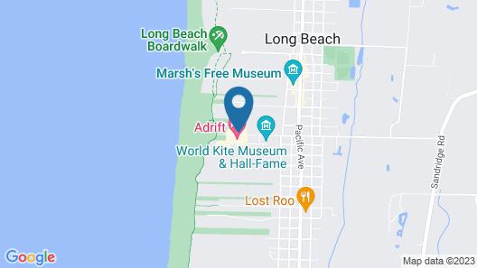 WorldMark Long Beach Map