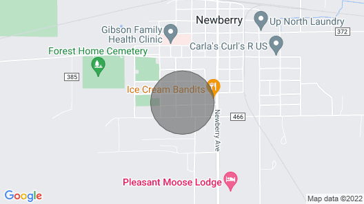 Newberry Homestyle Lodging Map
