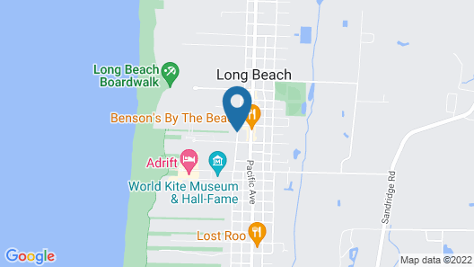 Best Western Long Beach Inn Map