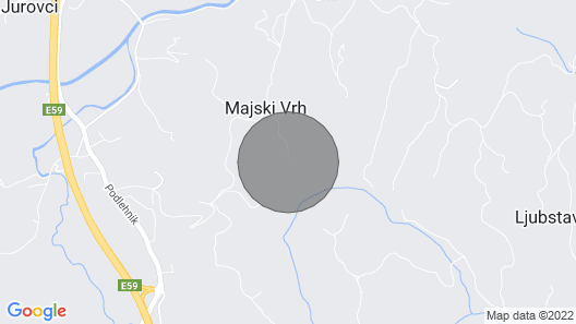 Hisa Vina - a Wine Estate on a Tranquil Vineyard Hill Sleeps 10+2 Map