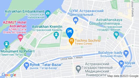 Novomoskovskaya Map