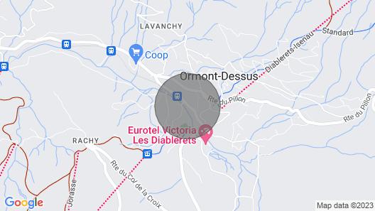 Détente en Toute Sécurité à la Montagne Map