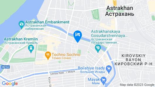U Hostel Map