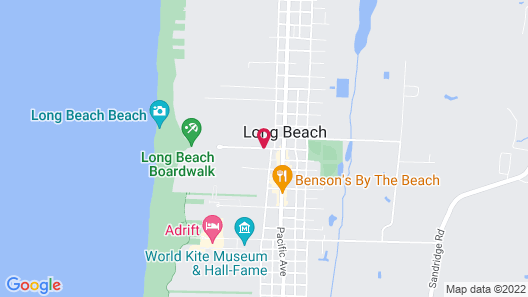 Oceanview Inn At The Arch Map