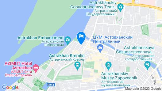 Astrakhanskaya Map