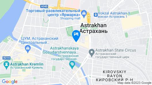 Park Inn by Radisson Astrakhan Map