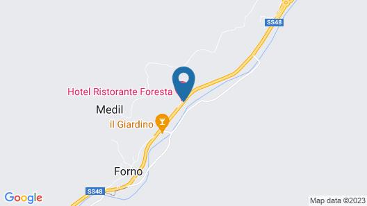 Hotel Foresta Map