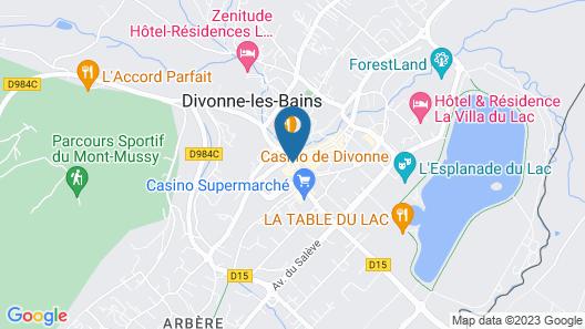 Hôtel Le Divona Map