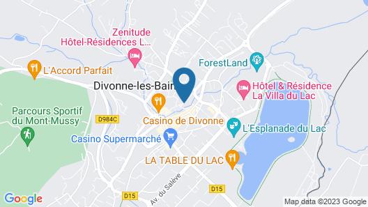 Hôtel la Terrasse Fleurie Map