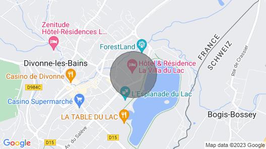 Appartement Duplex Avec Kitchenette Equipée Piscine + Spa! Map