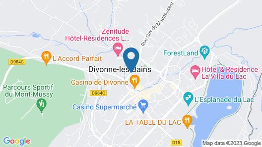 Grand Hôtel - Domaine De Divonne Map