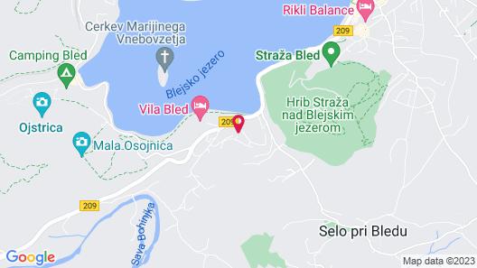 Vila Alpina Map