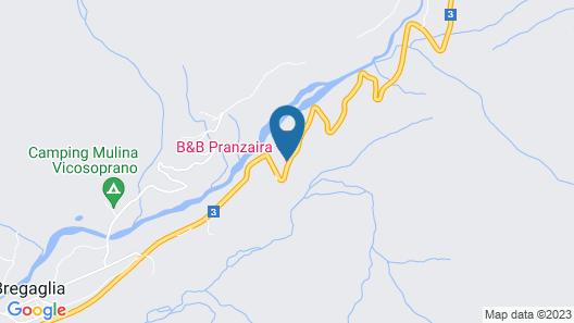 B&B Pranzaira Map
