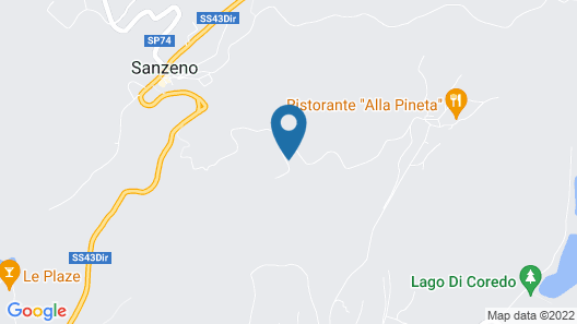 Apartment Alpenvidehof in Valle di Non - 6 Persons, 2 Bedrooms Map