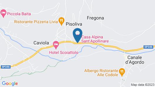 Casa Alpina Sant' Apollinare Map
