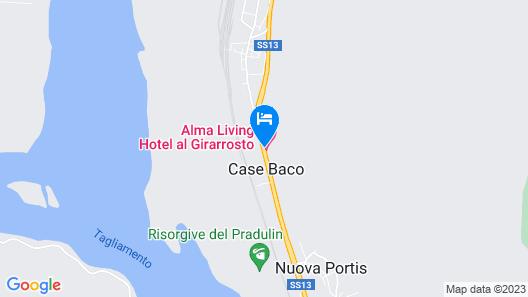 Alma Living Hotel Map