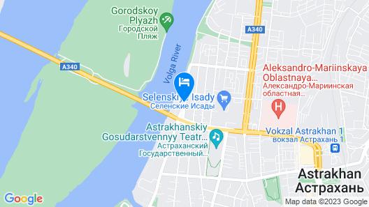 Grand Hotel Astrakhan Map