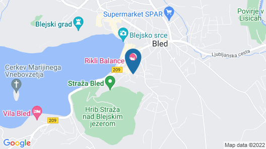 Penzion Kaps Map