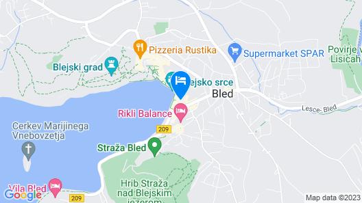 Hotel Park - Sava Hotels & Resorts Map