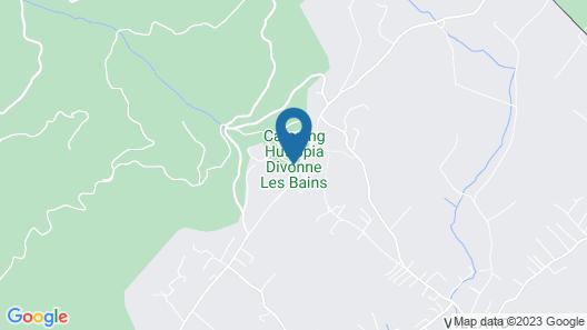 Huttopia Divonne Map