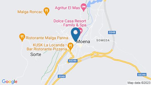 Hotel Faloria Map