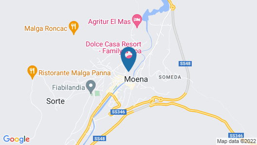 Dolce Casa Family Hotel & Spa Map