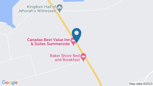 Canadas Best Value Inn & Suites Summerside Map