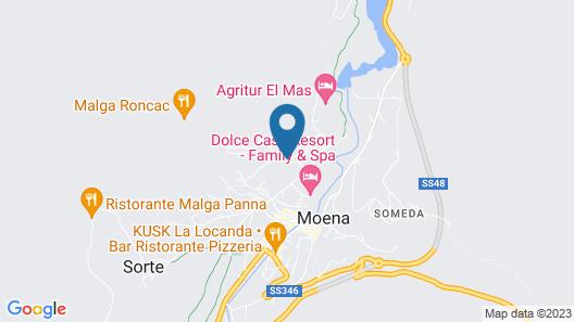 Hotel La Soldanella Map