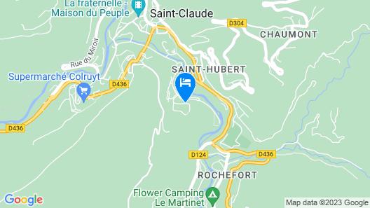 Hôtel Saint-Hubert Map