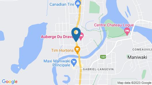 Auberge du Draveur Map