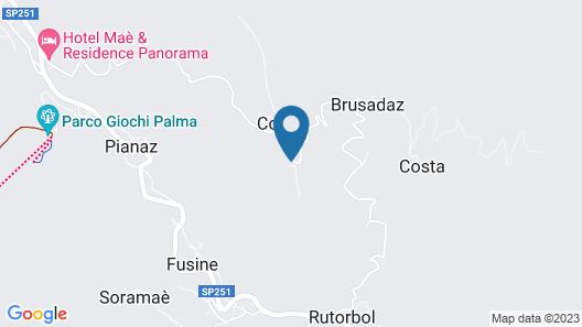 Hotel La Caminatha Map