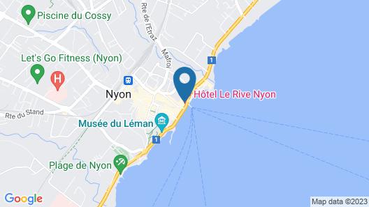 Hotel Le Rive Map