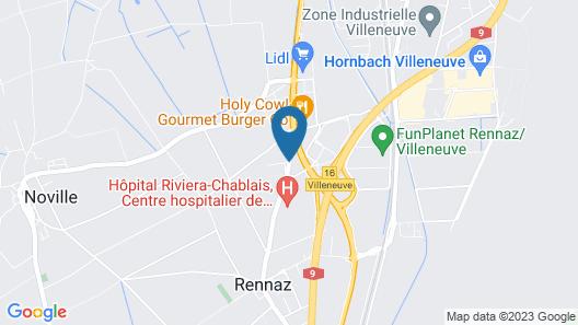Motel de Rennaz Map