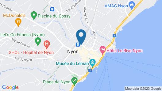 Base Nyon Map