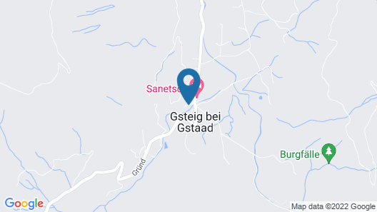 Cosy authentic Chalet in Gsteig Map