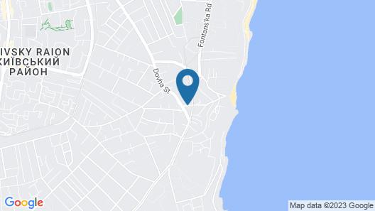 Eco hotel Villa Pinia Map