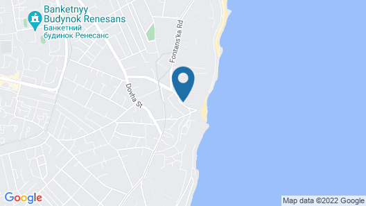 Odessa Rent Service Apartments at Sea-side Map