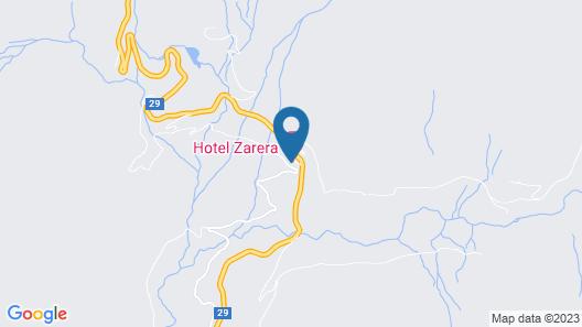 Hotel Ristorante Zarera Map