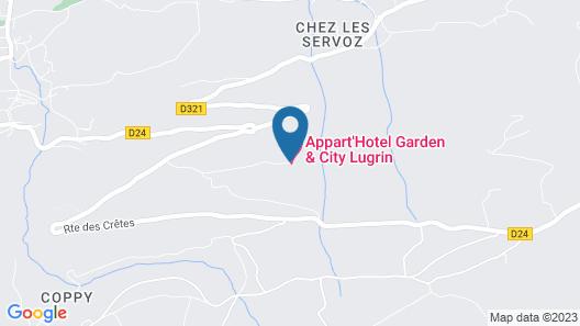 Garden & City Evian Lugrin Map