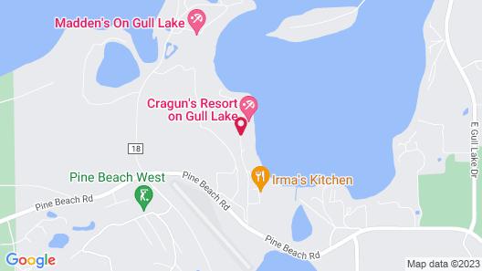 Cragun's Resort & Hotel Map