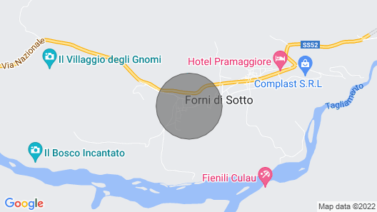 2 Bedroom Accommodation in Forni di Sotto Map