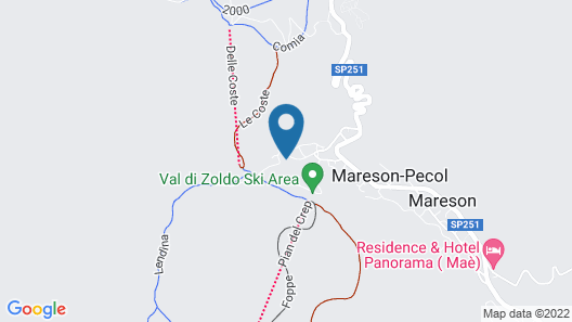 Residence Sas De Pelf  Map