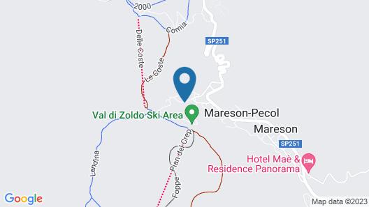 Casa Potola Map