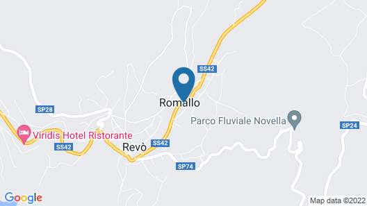 Agriturismo NonSoloMele Map