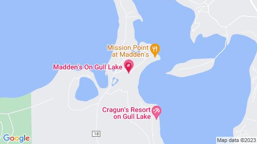 Maddens On Gull Lake Map