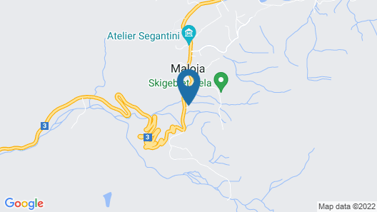 Hotel Maloja Kulm Map