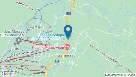 Relais Alpin Map