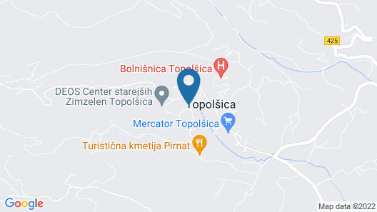 Hotel Vesna Map